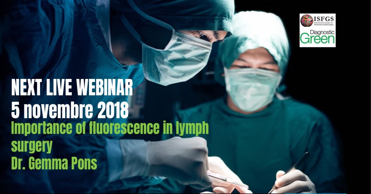 Importance of fluorescence in lymph surgery